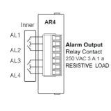 KRN100-CARD  KRN-AR4(ALARM RELAY TYPE CARD)  Карта ввода-вывода
