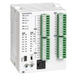 DVP20SX211R Контроллер: 8DI, 6DO, 4AI, 2AO (Relay), 24V DC Power, 2 шины расширения, USB, SLIM
